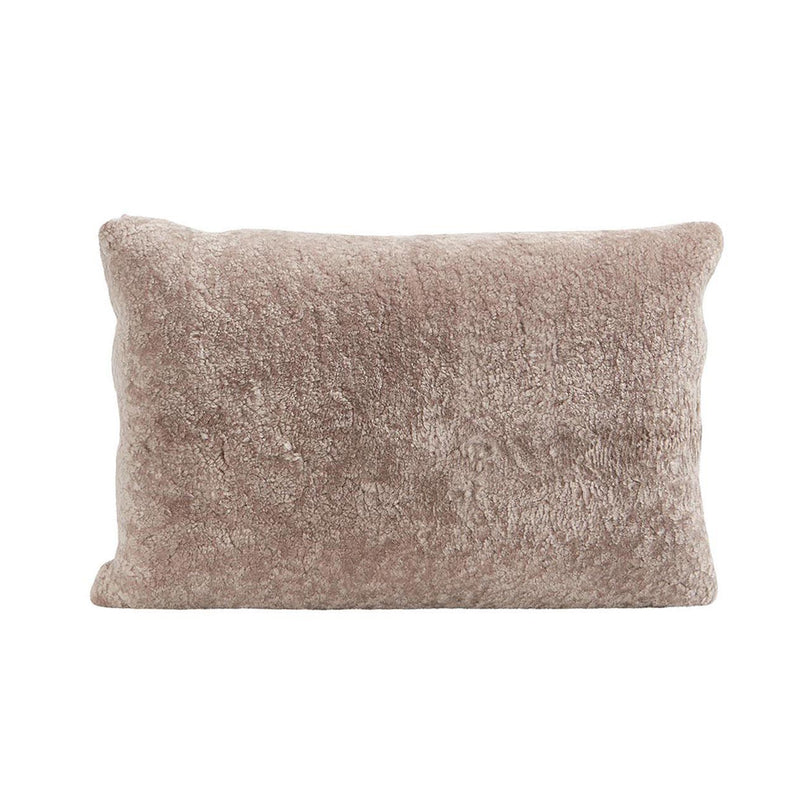 Lina Sheepskin Cushion Stone