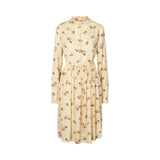 Sienna Dress Cream Floral Lolly's Laundry, - Stripes Fashion and Beauty