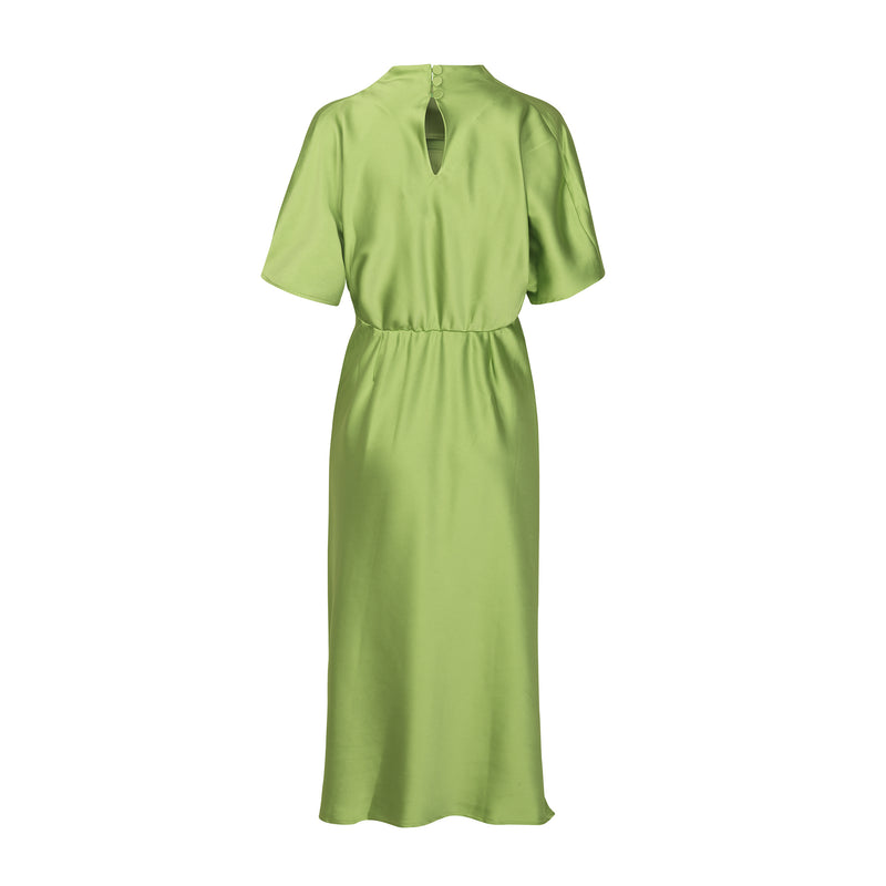 Rhode Dress Green Stine Goya, - Stripes Fashion and Beauty