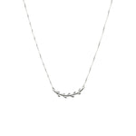 Cleopatra Necklace Silver