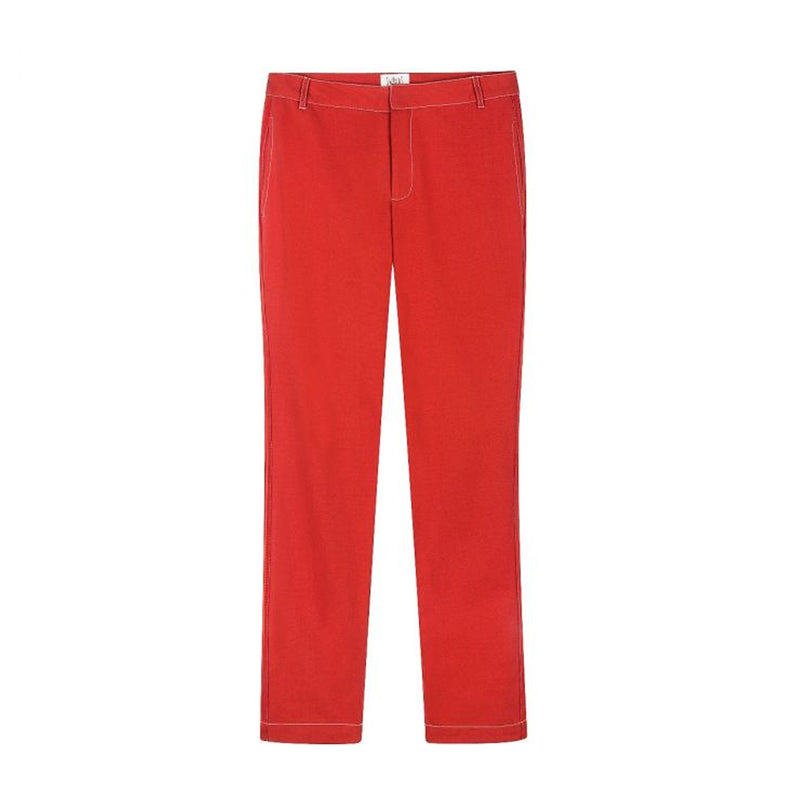 Valbert Chinos Red Swildens, - Stripes Fashion and Beauty