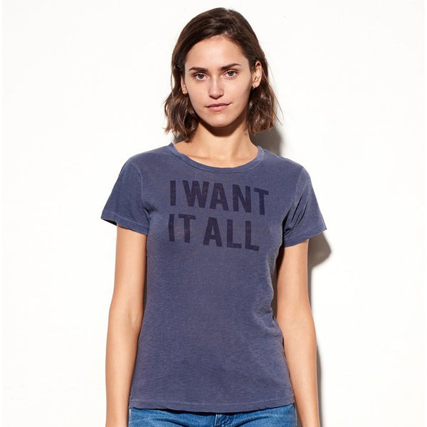 Sundry I Want It All T-shirt Sundry, - Stripes Fashion and Beauty