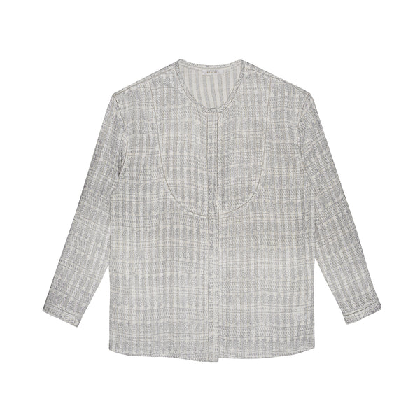 Intropia Silver Detail Top Intropia, - Stripes Fashion and Beauty
