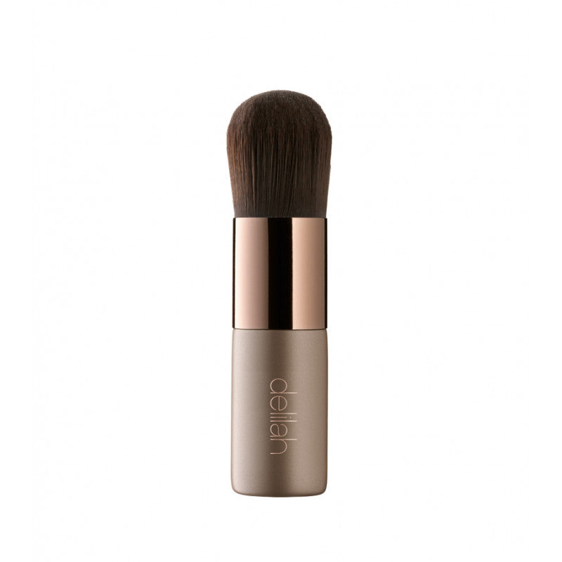 delilah Foundation Kabuki Complexion Brush Delilah Cosmetics, - Stripes Fashion and Beauty
