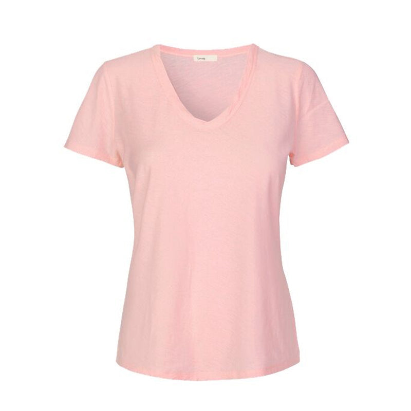 Levete Room Pink T-shirt Levete Room, - Stripes Fashion and Beauty