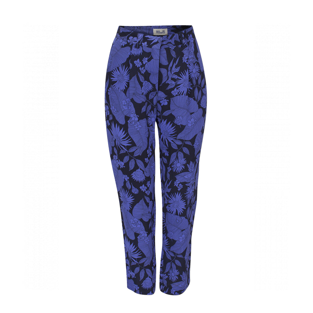 Namrata Trousers Blue Floral Baum Und Pferdgarten, - Stripes Fashion and Beauty