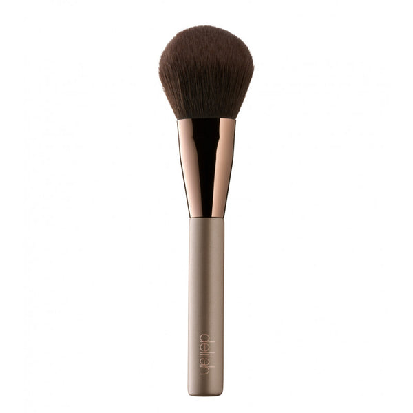 Large Powder Brush  Complexion Brush Delilah Cosmetics, - Stripes Fashion and Beauty
