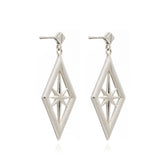 Rachel Jackson Nova Earrings Sterling Silver Rachel Jackson Jewellery, - Stripes Fashion and Beauty