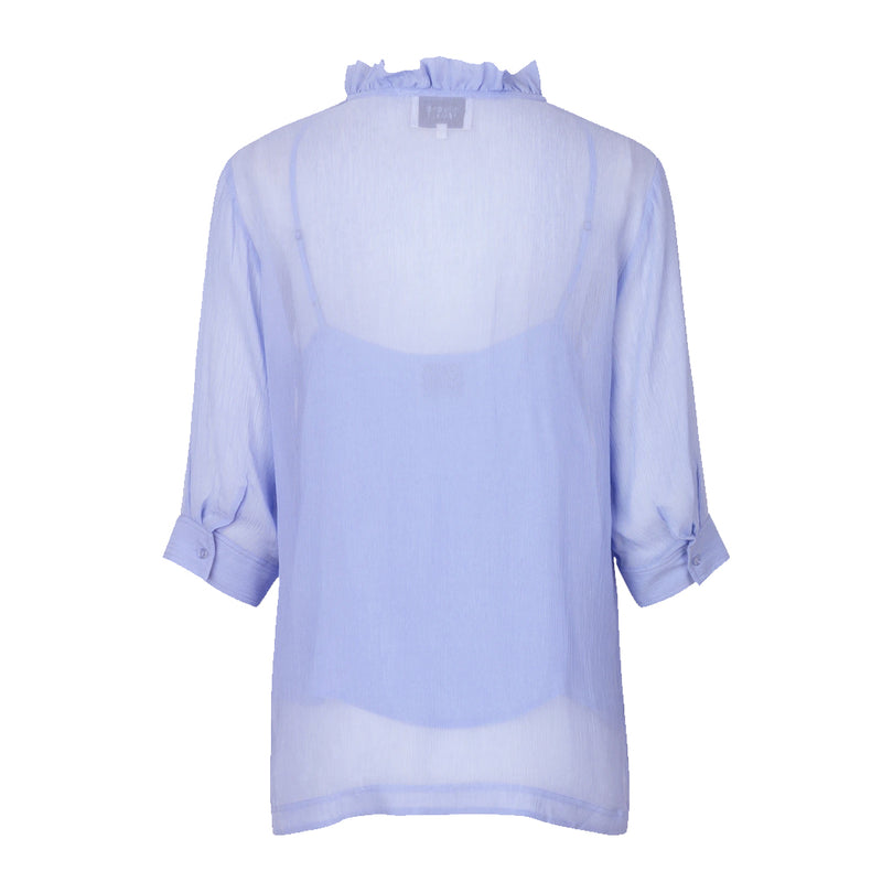 Tul Sheer Blouse Second Female, - Stripes Fashion and Beauty