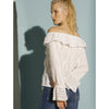 Vitto Blouse White Swildens, - Stripes Fashion and Beauty