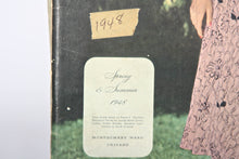 Collection of 1940s Montgomery Ward Catalogues