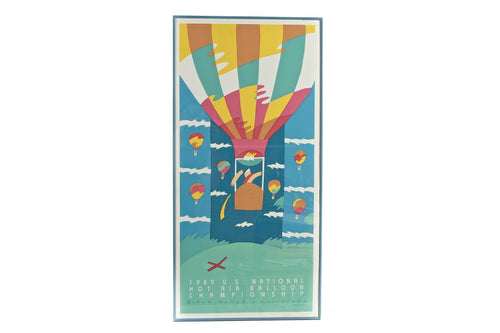 1989 US Hot Air Balloon National Championship Limited Edition Lithograph