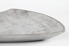 Large Sculptural Metal Dish