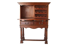 South Cone Mahogany Wine Cabinet