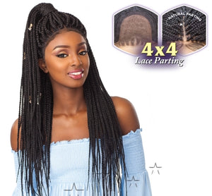 Sensationnel - Cloud 9 4x4 Multi-Part Swiss Lace Front Wig Box Braid Large