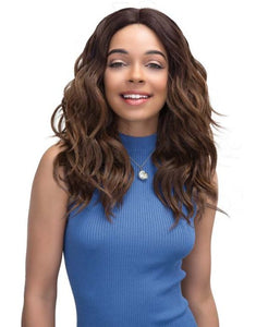 JANET COLLECTION - SUPER FLOW DEEP PART LACE MOON LITE WIG