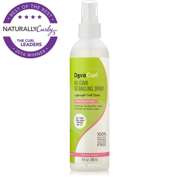 DevaCurl  -  No-Comb Detangling Spray, 8 Oz
