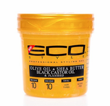 Eco Style Gold Olive & Shea Butter & Black Castor Oil & Flaxseed Styling Gel