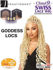 Sensationnel - Cloud 9 4x4 Multi-Part Swiss Lace Front Wig Goddess Loc