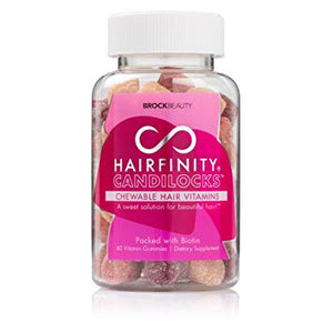 HAIRFINITY - CANDILOCKS CHEWABLE HAIR VITAMINS