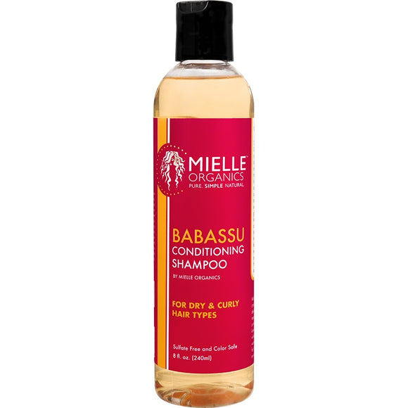 Mile Organics - Babassu Oil Conditioning Sulfate-Free Shampoo - 8 fl oz