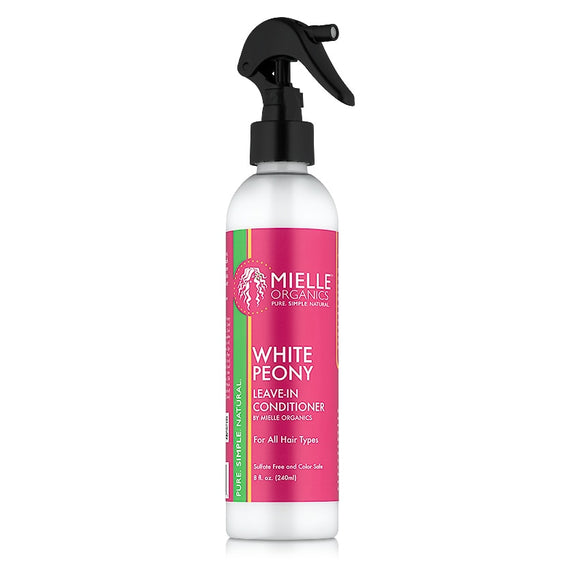 Mielle Organics Leave-In Conditioner White Peony - 8 fl oz