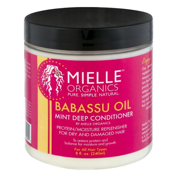 Mielle Organics Deep Conditioner Babassu & Mint - 8 fl oz