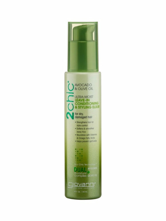 Govanni -  Avocado & Olive Oil Leave In Conditioner & Styling Elixir