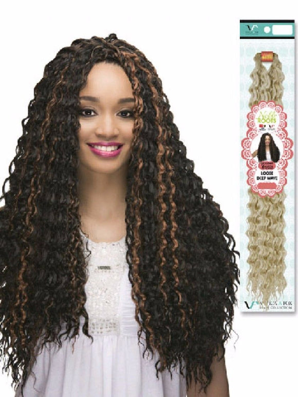 Vivica A. Fox Noble Roots Collection - Loose Deep Wave Crochet Braid 18