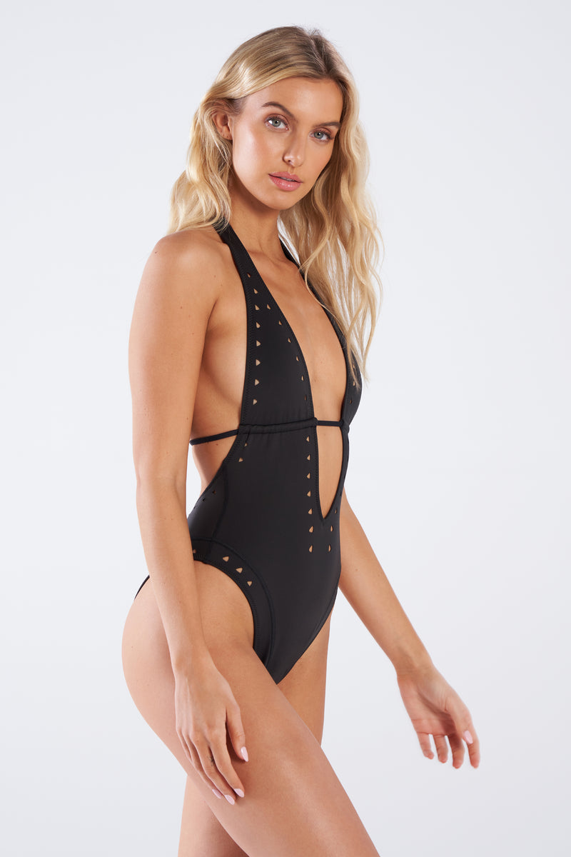 Carrie Plunging One-Piece