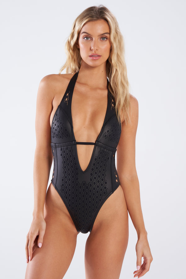 Camilla One Piece Faux Leather