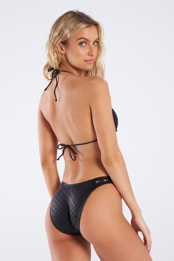 Brooke Bottom Faux Leather