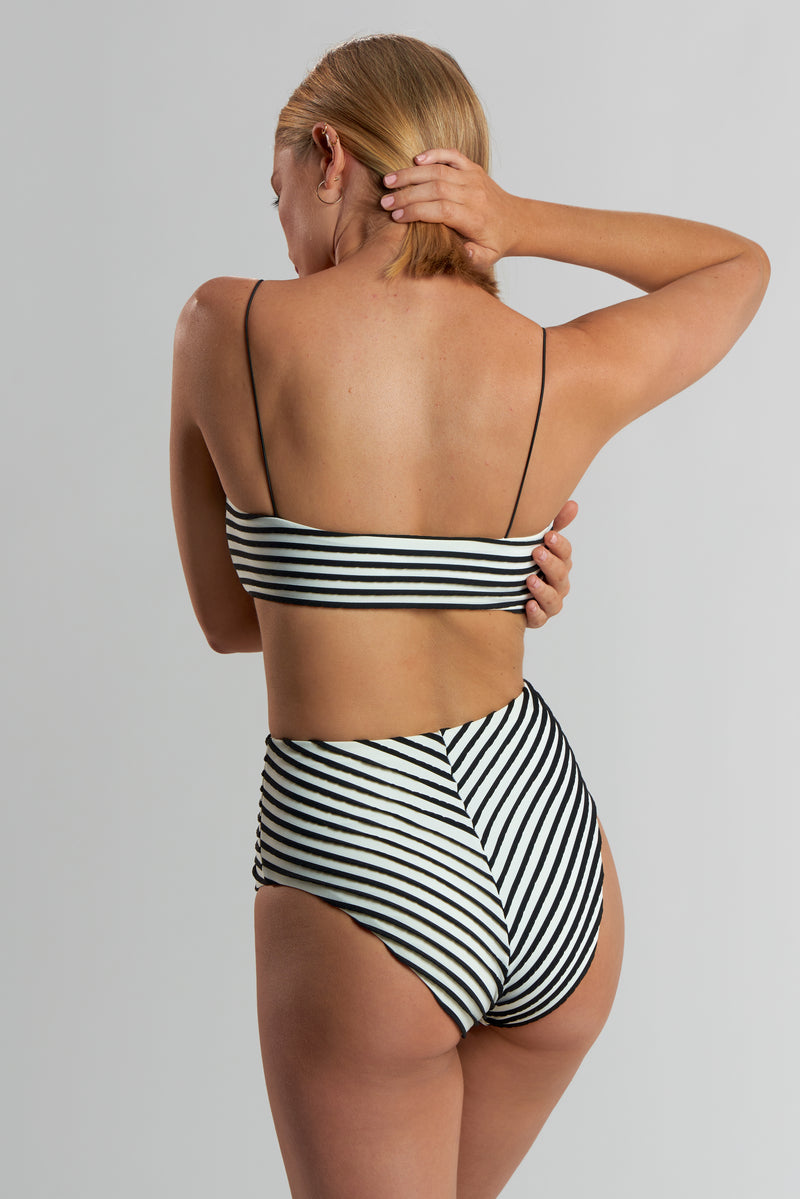 Jules Bottom 3-D Stripe