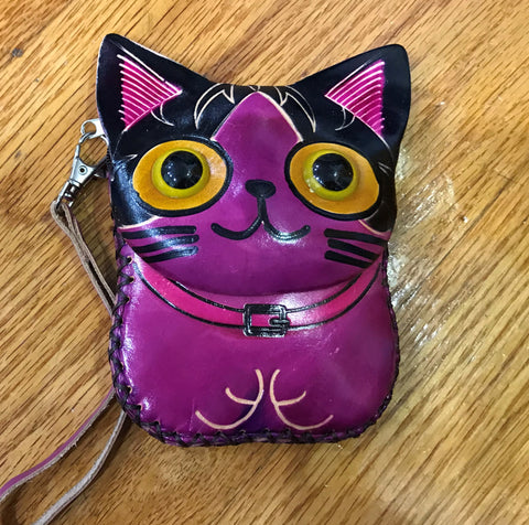 Cat CHANGE PURSE