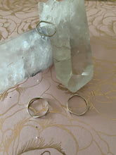 + 2 for $20 silver wavy ring size 5