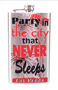Party In The City That Never Sleeps Flask