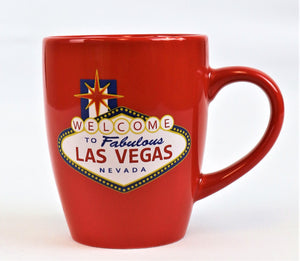 Las Vegas Welcome Sign Belly Mugs