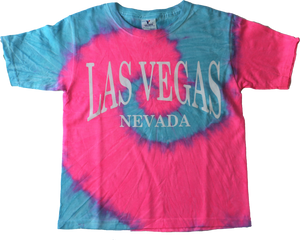 Las Vegas Youth Tie Dye Shirt