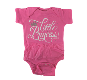 Infant Las Vegas Little Princess Rib Tutu Onsie