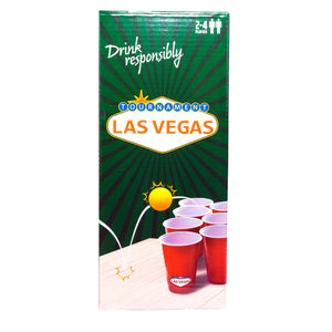 Las Vegas Beer Pong Game Set