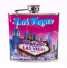 Las Vegas Hotel Welcome Sign Flask