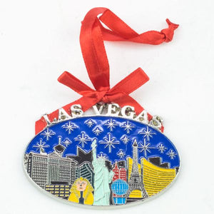 Las Vegas Holiday Ornaments
