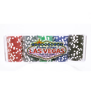 Las Vegas Poker Clay Chip Set 100 Count