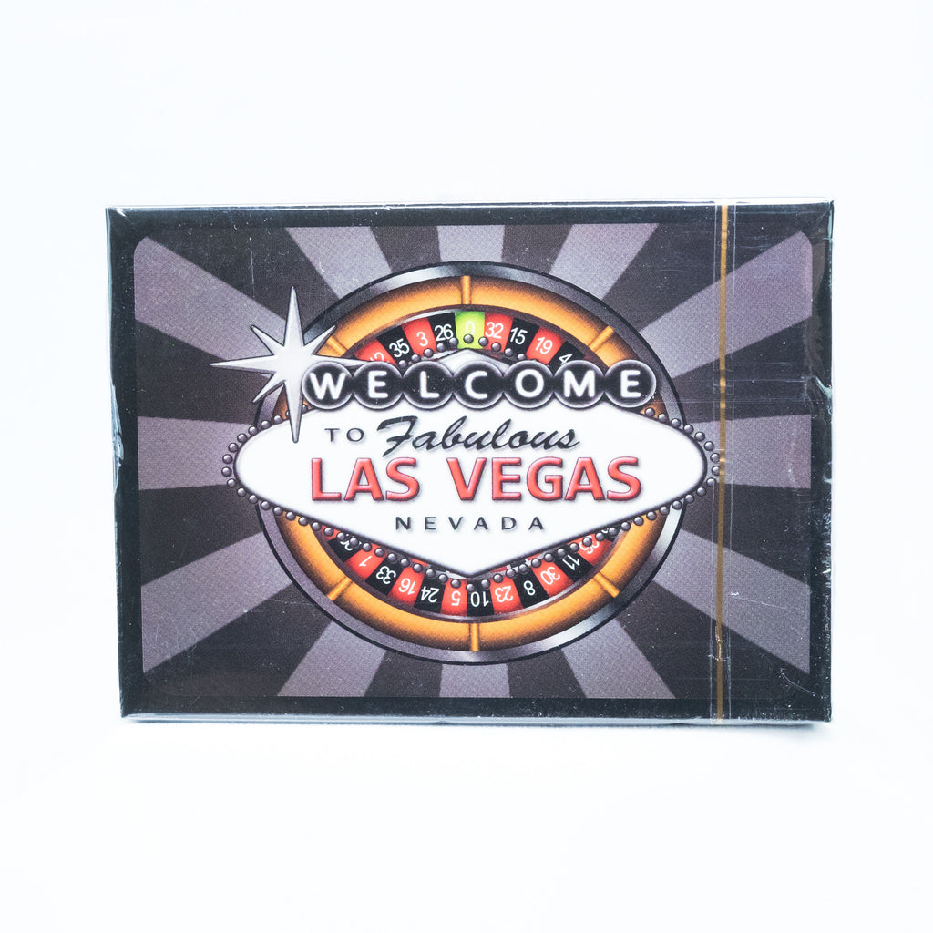 Las Vegas Welcome Sign Roulette Playing Cards