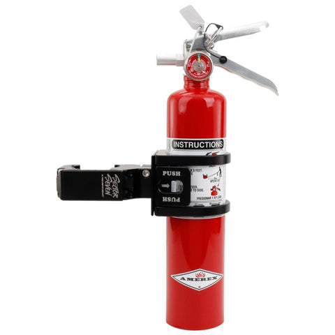 Quick Release Fire Extinguisher Mount