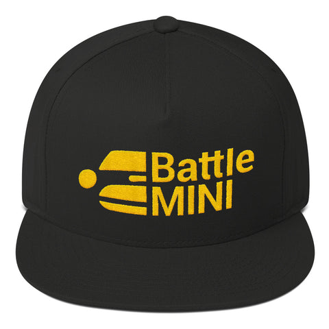 Battle Mini Flat Bill Cap / Hat