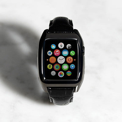 The Watch for Apple Watch 38mm(Black 黒) 初代モデル|SQWCH100