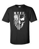 T-SHIRT - M.T.F.U. - BLACK/WHITE