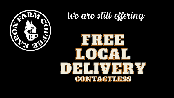 free local delivery contactless ballarat coffee