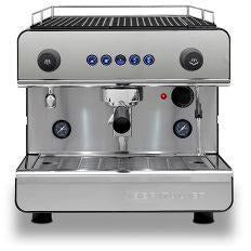 Black Silver Espresso machine Iberital 1 group